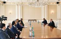 """President Aliyev receives Speaker of Pakistani National Assembly <span class=""""color_red"""">[UPDATE]</span>"""