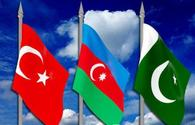 Parliamentary co-op of Azerbaijan, Pakistan, Turkey to develop fraternal relations of these states