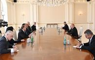 """Ilham Aliyev receives Oklahoma governor <span class=""""color_red"""">[UPDATE]</span>"""