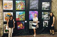 """National artist displays art works in Andorra <span class=""""color_red"""">[PHOTO]</span>"""