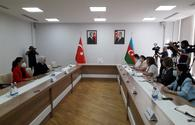 """Another meeting held in Baku between ruling parties of Turkey and Azerbaijan <span class=""""color_red"""">[PHOTO]</span>"""
