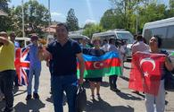 """Azerbaijanis living abroad arrive in Shusha <span class=""""color_red"""">[PHOTO]</span>"""