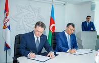 """Azerbaijan, Serbia boost trade turnover by 55.4pct in 2021 <span class=""""color_red"""">[PHOTO]</span>"""