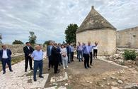 """Another working visit organized to Azerbaijan's liberated Aghdam <span class=""""color_red"""">[PHOTO]</span>"""