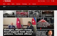 """Turkish Yenisafak online newspaper starts publishing articles of Trend News Agency in English <span class=""""color_red"""">[PHOTO]</span>"""