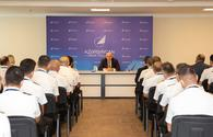 """Traditional General Meeting of AZAL's Flight Crew was Held <span class=""""color_red"""">[PHOTO]</span>"""