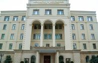 MoD: Information on alleged downing of two UAVs of Azerbaijani army - false