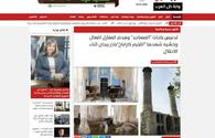 """Egyptian journalists write articles after visit to liberated lands of Azerbaijan <span class=""""color_red"""">[PHOTO]</span>"""