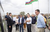 """Oklahoma governor views work within &quot;smart village&quot; project in Azerbaijan's Zangilan <span class=""""color_red"""">[PHOTO]</span>"""