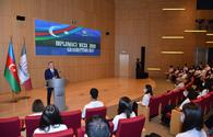 """Baku holds Week of Diplomacy closing ceremony organized by Foreign Ministry, ADA University <span class=""""color_red"""">[PHOTO]</span>"""