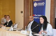 """USAID hosts round table discussion to promote women's entrepreneurship in Azerbaijan <span class=""""color_red"""">[PHOTO]</span>"""
