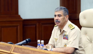 Defence Minister orders command staff to be ready for Armenian provocation