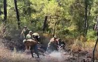 More Azerbaijani firefighting and rescue teams participate in extinguishing fires in Turkish Denizli