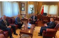 """Talks held between Turkish ambassador to Azerbaijan and Trend News Agency <span class=""""color_red"""">[PHOTO]</span>"""