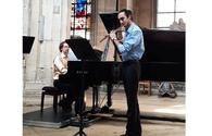 """Young flutist gives charity concert in Paris <span class=""""color_red"""">[PHOTO/VIDEO]</span>"""