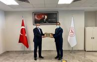 """Head of Turkish Health Institutes Office meets with board chairman of TABIB <span class=""""color_red"""">[PHOTO]</span>"""