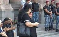 Missing Armenian servicemen's relatives stage protest