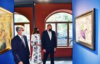 """President, First Lady visit exhibitions in Shusha <span class=""""color_red"""">[PHOTO]</span>"""