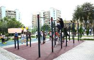 """Another yard renovated in Baku <span class=""""color_red"""">[PHOTO]</span>"""
