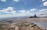 """Azerbaijani-Turkish fighter jets perform operational flights <span class=""""color_red"""">[PHOTO/VIDEO]</span>"""
