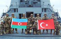 """Next stage of Azerbaijani-Turkish naval drills wraps up <span class=""""color_red"""">[PHOTO/VIDEO]</span>"""