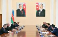 """Azerbaijan's PM meets with Turkic Council delegation <span class=""""color_red"""">[PHOTO]</span>"""