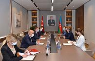 """Azerbaijan, Turkey mull strengthening multilateral co-op <span class=""""color_red"""">[PHOTO]</span>"""