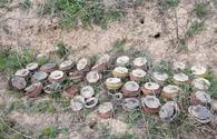 Over 149 mines, munitions found in liberated lands