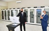 """President Aliyev inaugurates newly-built substation <span class=""""color_red"""">[UPDATE]</span>"""