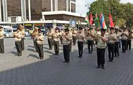 """Azerbaijani Army holds events on 103rd anniversary of Baku's liberation <span class=""""color_red"""">[PHOTO]</span>"""