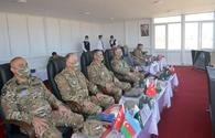 """Military officials from Azerbaijan, Turkey, Pakistan observe &quot;Three Brothers - 2021&quot; exercises <span class=""""color_red"""">[PHOTO]</span>"""