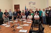 Top official upbeat about meeting with Georgian reporters, bloggers