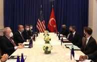 Turkish FM talks situation in South Caucasus with US Secretary of State
