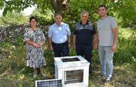 Device for increasing productivity of bee colonies successfully tested in Azerbaijan
