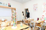 """First VP visits newly-built school in Baku settlement <span class=""""color_red"""">[UPDATE]</span>"""