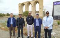 """OIC experts investigate Armenia's crimes in previously occupied Azerbaijani Aghdam <span class=""""color_red"""">[PHOTO]</span>"""