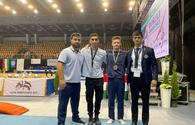 """Azerbaijani gymnast wins gold medal at Grand Prix in Hungary (PHOTO) <span class=""""color_red"""">(PHOTO)</span>"""
