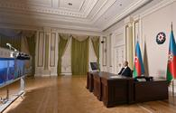 """President: Azerbaijan ready for dialogue with Armenia <span class=""""color_red"""">[UPDATE]</span>"""