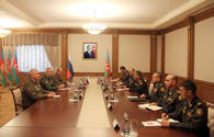 Defence chief receives new Russian peacekeeper commander