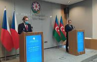 """FM: Baku, Prague have potential to jointly rebuild Karabakh <span class=""""color_red"""">[PHOTO]</span>"""