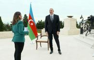"""Chronicles of Victory: President Ilham Aliyev interviewed by Al Jazeera TV on October 2, 2020 <span class=""""color_red"""">[PHOTO/VIDEO]</span>"""