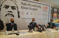 Baku int'l Book Fair to be held annually