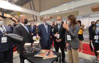 """Int'l Book Fair opens in Baku <span class=""""color_red"""">[PHOTO]</span>"""
