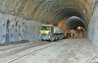 """Tunnel construction underway in liberated Kalbajar <span class=""""color_red"""">[PHOTO]</span>"""