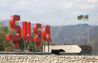 Visit of press attachés of diplomatic corps accredited in Azerbaijan to Shusha starts
