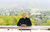 """Aliyev: Hadrut, Khojavand to turn into popular tourism center <span class=""""color_red"""">[UPDATE]</span>"""
