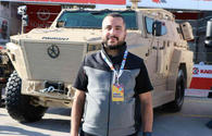 Turkey exhibits domestic armored vehicle at science festival
