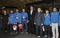 """Youth and Sport Minister meets national wrestlers <span class=""""color_red"""">[PHOTO]</span>"""
