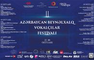 Baku to host Int'l Festival of Vocalists