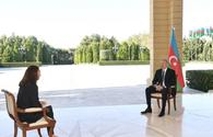 """Chronicles of Victory: President Ilham Aliyev interviewed by France 24 TV channel on October 14, 2020 <span class=""""color_red"""">[PHOTO/VIDEO]</span>"""